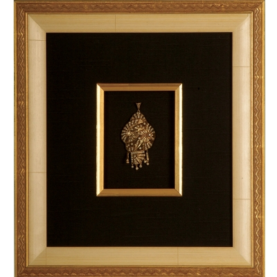 Framed in Ivory Deco