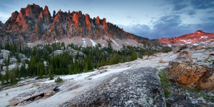 Warbonnet Peak, Sawtooth Mountains, Idaho